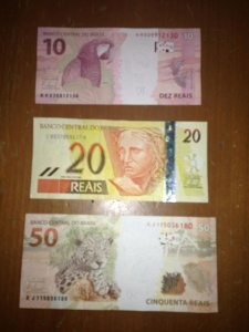 Brazilian Real  Prettier than dead presidents!